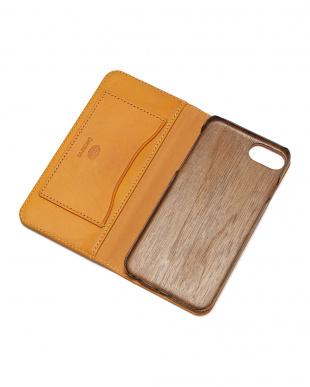 イエロー PEBBLY(ぺブリー)イエロー iPhone8/7/6s/6 兼用イタリアレザー 木製ケースを見る
