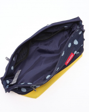 COSMETIC BAG S SPOTS NAVY/YEを見る