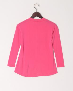ピンク スタープリントTシャツを見る