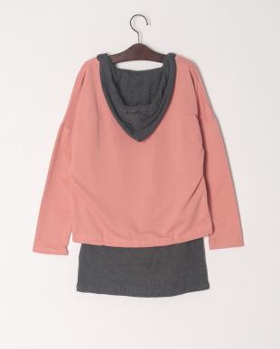 ピンク インナーセットロゴTシャツを見る