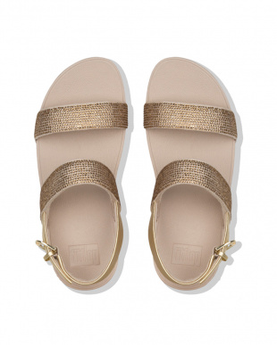 Artisan Gold LOTTIE SHIMMERCRYSTAL BACK-STRAP SANDALSを見る