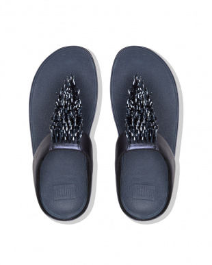 Midnight Navy RUMBA TOE-THONG SANDALSを見る