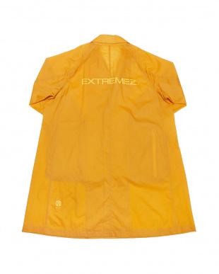 オレンジ PACKABLE TRANSPARENT LONG COATバックロゴ パッカブル ロングコートを見る
