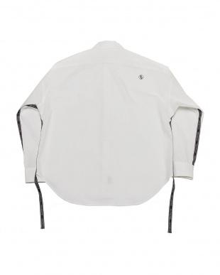 オフ EXZ-LOGOTYPE LINE TAPE SHIRTロゴテープ 長袖シャツを見る