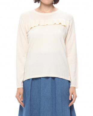ホワイト ニット.セーターを見る