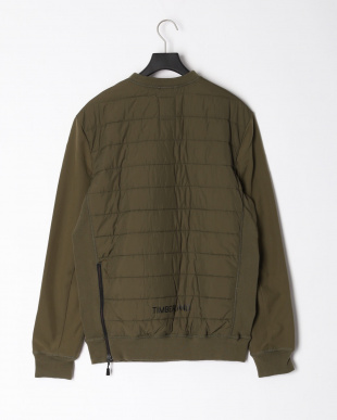 Olive Night Padded pullover polyfill Oliveを見る