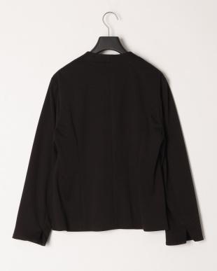 ブラック シャンブレージャージジャケットを見る