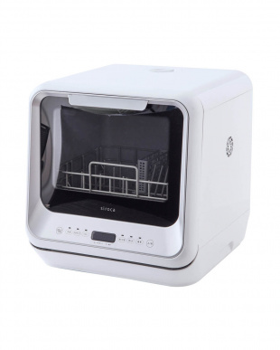シルバー [箱破損]siroca 食器洗い乾燥機SS-M151を見る