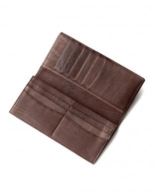 チョコ カーフレザー 長財布を見る