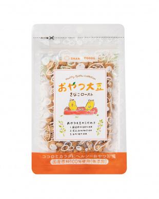 『添加物不使用&国産原料100%  女性に嬉しい栄養素が豊富』おやつ大豆 きなこロースト 6袋セットを見る