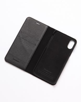 ブラック REMY(レミー)ブラック iPhoneX/XS 兼用フランスレザーノーマルケースを見る