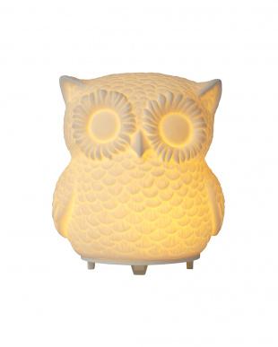 ホワイト AROMA DIFFUSER OWL(MIST)を見る