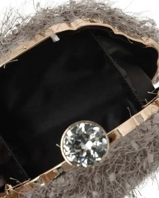 グレー [STYLE DELI dress/select]feather yarn mini bagを見る