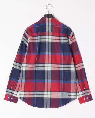 ピンク ヴィンテージクレストブリッジチェックシャツを見る