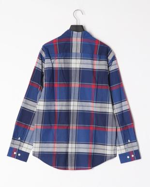 ネイビー ヴィンテージクレストブリッジチェックシャツを見る