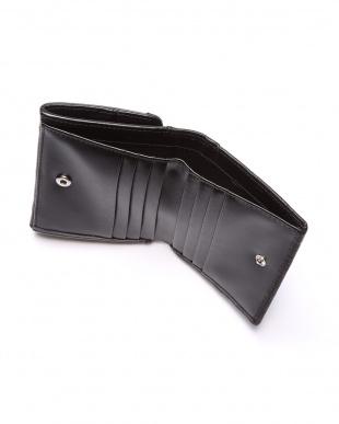 ブラック オーストリッチコンパクト財布を見る