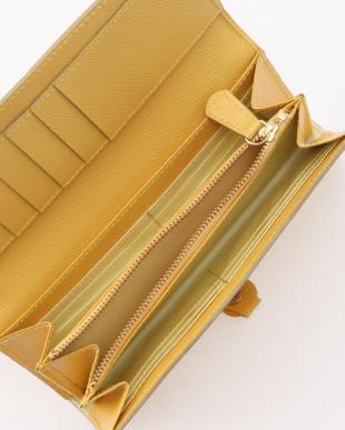 レモンイエロー 角シボ型押し・長財布 COLORATO コロラートを見る