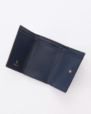 コン 角シボ型押し・三つ折りミニ財布 COLORATO コロラートを見る