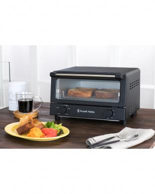 マットブラック オーブントースターを見る