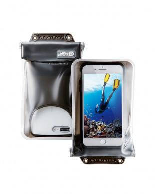 ブラック 「スマートフォン用防水・防塵ケース」 水没防止タイプ/XLサイズ/6インチ対応を見る