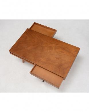 引出し付きローテーブル 90×50×38cmを見る