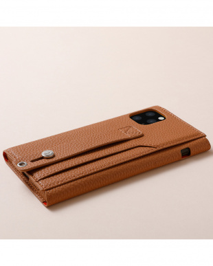 キャメル clings  Slim Hand Strap Case for iPhone 11を見る