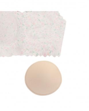 ピンク(小花) sloggi G046 N-Top5  スロギー ゼロ フィールG046 カップ付きハーフトップ5を見る