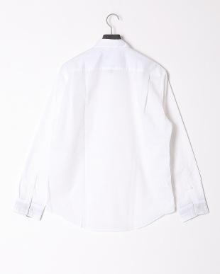 オフホワイト ハイブリッドリネンミックスシャツを見る