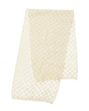 オフホワイト✕2 お風呂で使うシルクの美容洗浄タオル2枚セットを見る