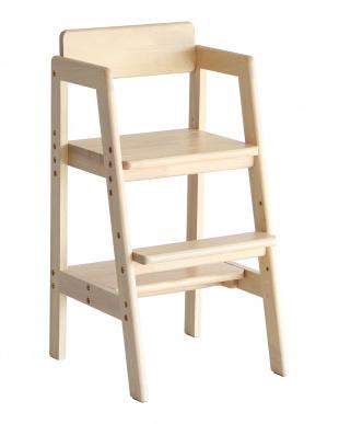 ナチュラル Kids High Chair -step-を見る