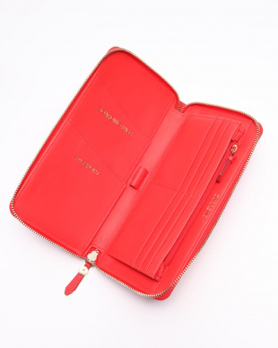 TRAVEL WALLET:FLAME SCARLETを見る