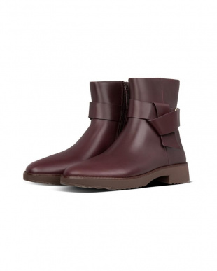 Lingonberry KNOT ANKLE BOOTSを見る