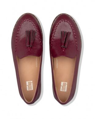 Lingonberry PETRINA PATENT LOAFERSを見る