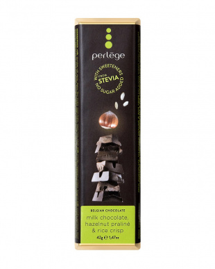 ステビアミルクチョコ&ライスクリスプヘーゼルナッツ 5個セットを見る