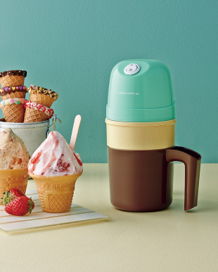 グリーン レコルト アイスクリームメーカー冷却ポットセットを見る