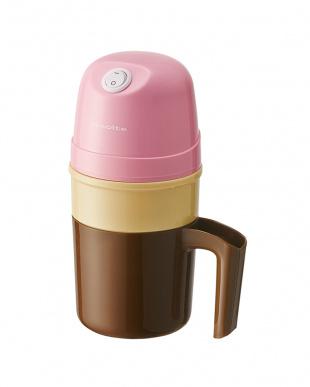 ピンク レコルト アイスクリームメーカー冷却ポットセットを見る
