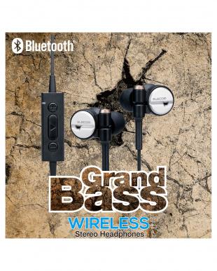 ブラック 「Bluetoothイヤホン」 高音質/シェアリング機能/安定した装着感を見る