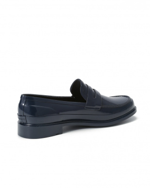 NAVY M REFINED PENNY LOAFER GLOSSを見る
