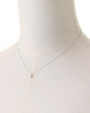 Pt900/Pt850 PT 天然ダイヤモンド 0.1ct 6本爪 プラチナネックレスを見る