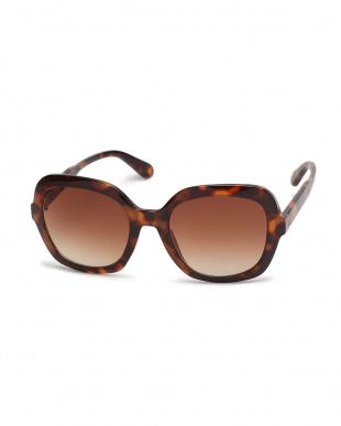 ブラウン・ブラック UVカットクリーンサングラス2色組を見る