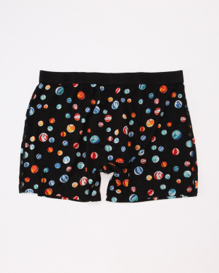 BLACK MARBLES ULTRA BOXER BRIEF FLYを見る