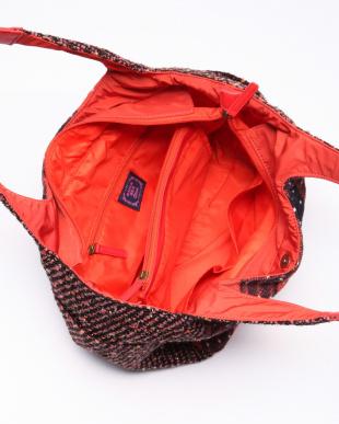 オレンジ 異素材マザーズバッグを見る