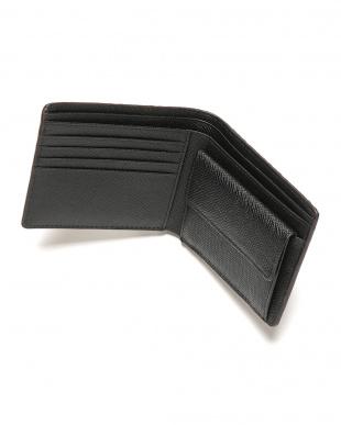 ブラウン リザードレザー 二つ折り財布を見る