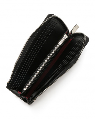 ブラック クロコダイルレザー ジップ 長財布を見る