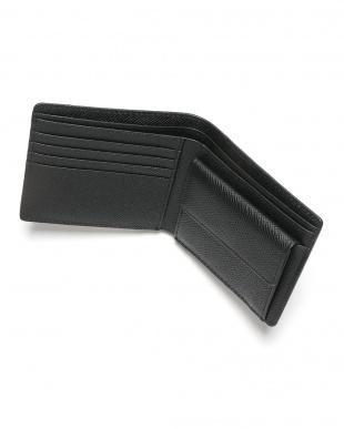 ブラック シャーク革 日本鞣し染色 二つ折り財布を見る