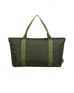 Khaki パッカブルトートバッグ for キャリーオンバッグを見る
