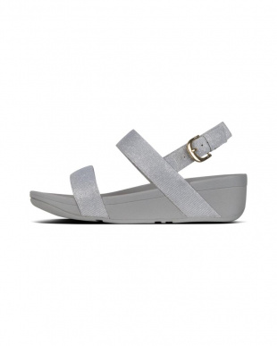 Silver LOTTIE GLITZYBACK-STRAP SANDALSを見る