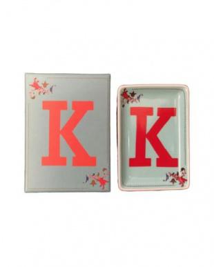 K  アルファベットステュディオ イニシャルインテリアトレー2個セットを見る