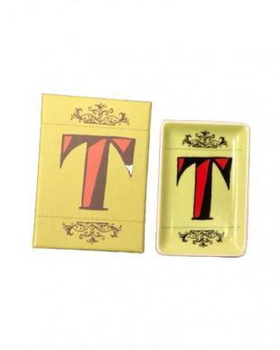 T  アルファベットステュディオ イニシャルインテリアトレー2個セットを見る