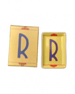 R  アルファベットステュディオ イニシャルインテリアトレー2個セットを見る
